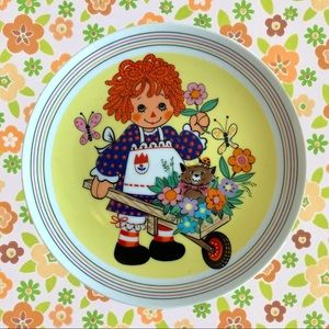 Raggedy Anne Collectore Plate 1980